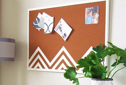 diy space saving bulletin board ideas