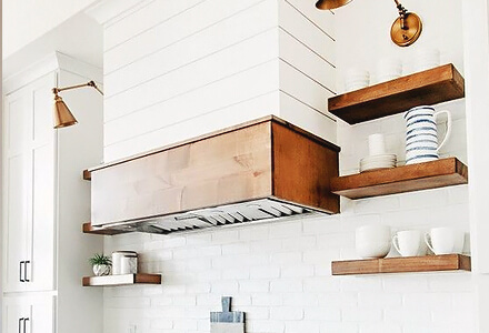 easy diy tile the stove overhead hood home improvement projects
