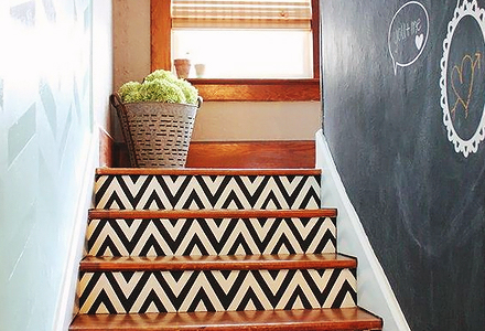 Decorate Your Stairway DIY weekend projects