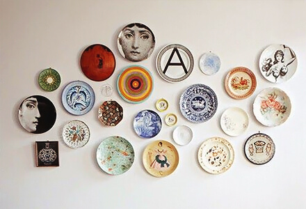 easy diy plate display home improvement projects