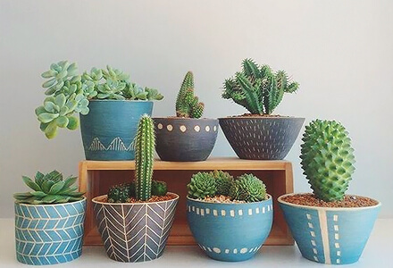 easy diy personalized flower pots home improvement projects