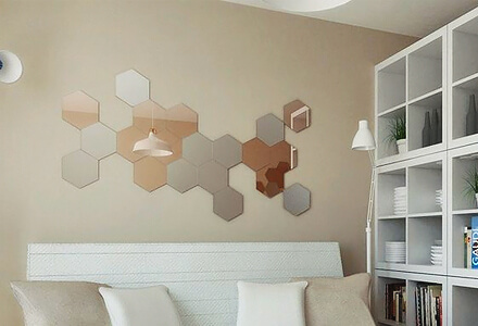 easy diy mirrored tiles home improvement projects