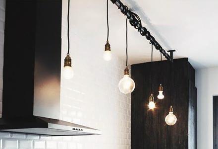 diy space saving hang your lights ideas