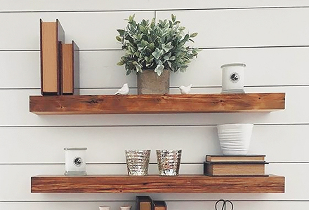 diy Make Floating Shelves weekend projects