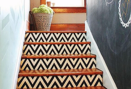 easy diy decorated stairways home improvement projects