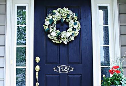 front door Easy DIY Home Improvement Projects