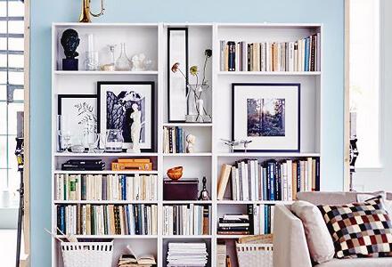 reorganize bookshelf Easy DIY Home Improvement Projects